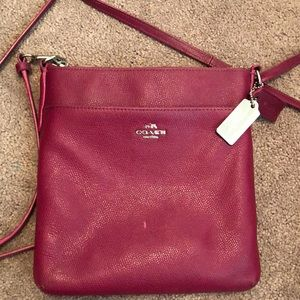 Authentic coach cross body